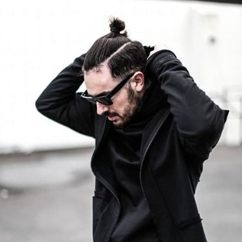 Top Knot Samurai Hair