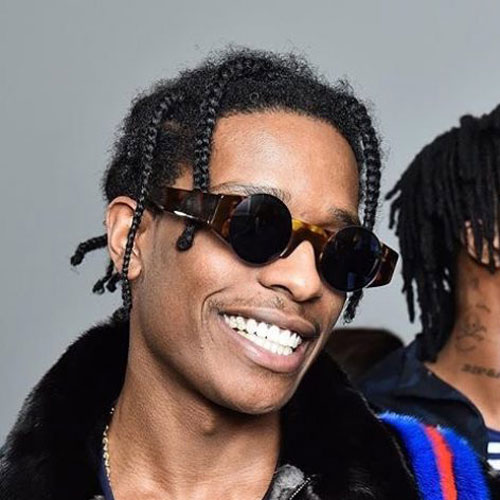 Asap Rocky Braids Men S Hairstyles Haircuts 2017
