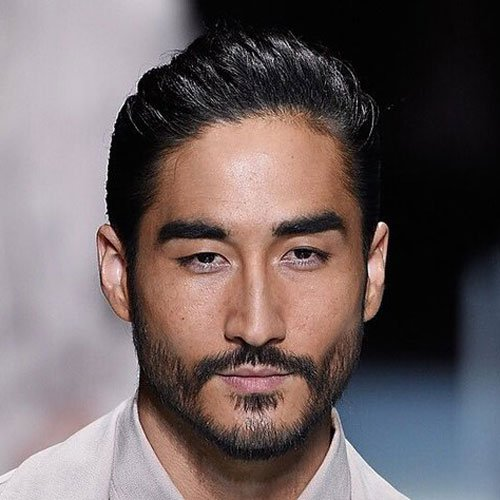 Asian Facial Hair - Full Beard Styles