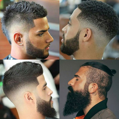 Beard Fade Cool Faded Beard Styles Mens Hairstyles Haircuts 2019