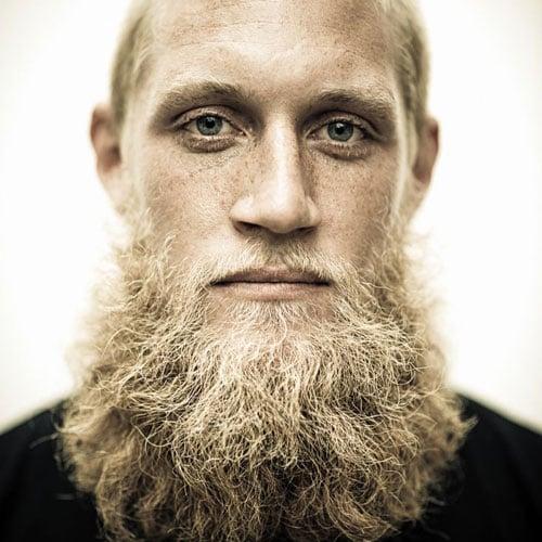 Blonde Beard Styles Men Hairstyles Haircuts