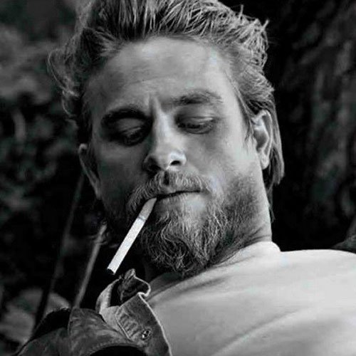 Charlie Hunnam Beard and Hair