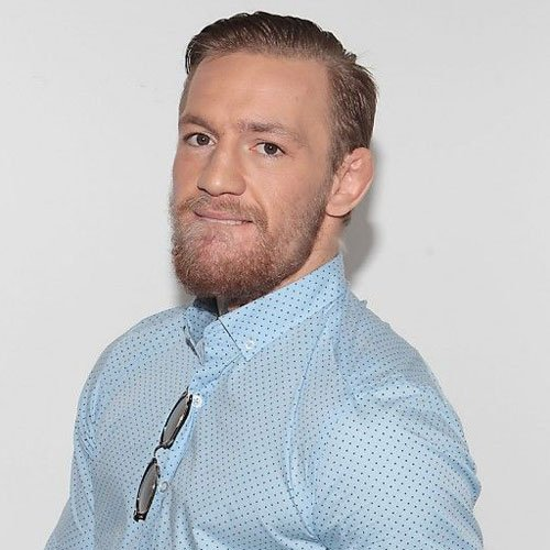 Conor McGregor Hair - Tapered Sides with Long Comb Over