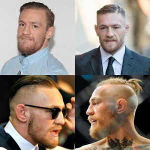Conor McGregor Haircut