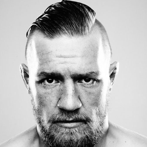 Conor McGregor Haircut - Long Slicked Back Undercut Hairstyle