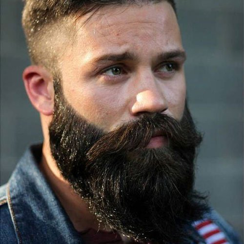 Cool Beard and Fade