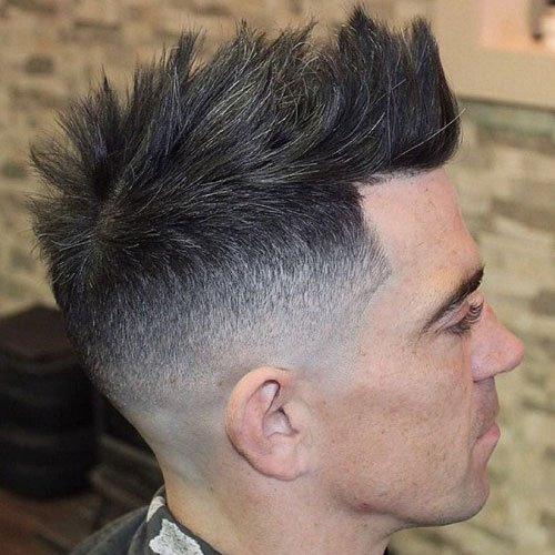 Faux Mohawk + Fade + Line Up