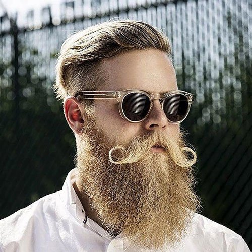 Blonde Beard Styles
