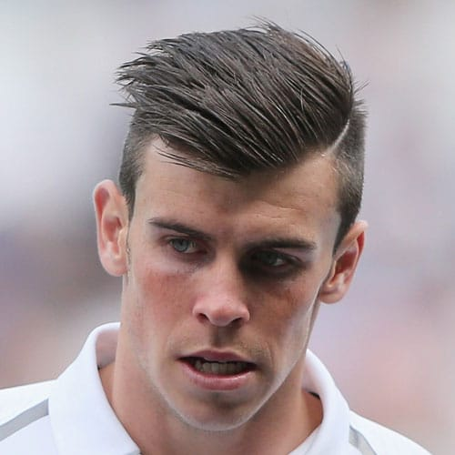 Gareth Bale Hair - Undercut with Hard Part and Comb Over