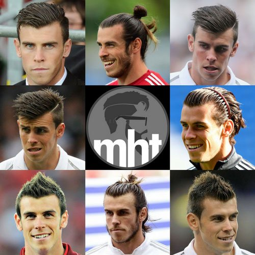 15 Best Gareth Bale Hairstyles 2019 Update