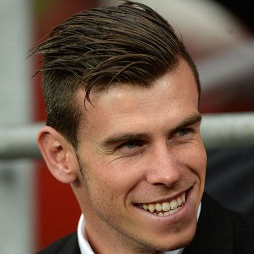 The Gareth Bale Haircut | Men's Hairstyles + Haircuts 2017