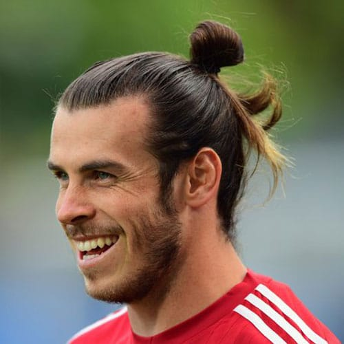 Gareth Bale Hairstyle - Top Knot