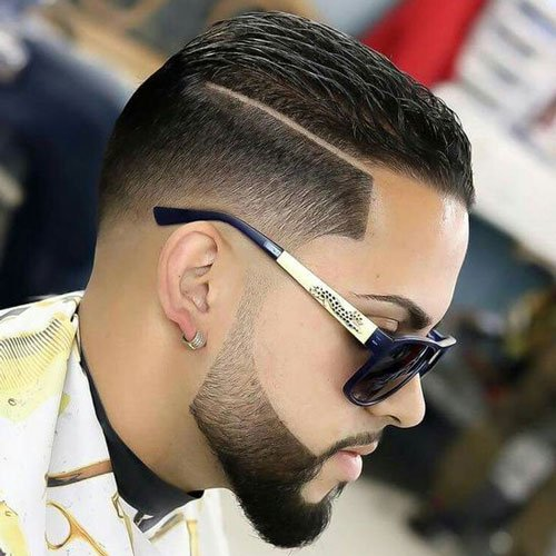 The Beard Fade Cool Faded Beard Styles Men S