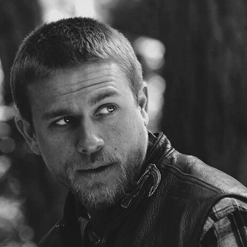 Jax Teller Hair - Buzz Cut
