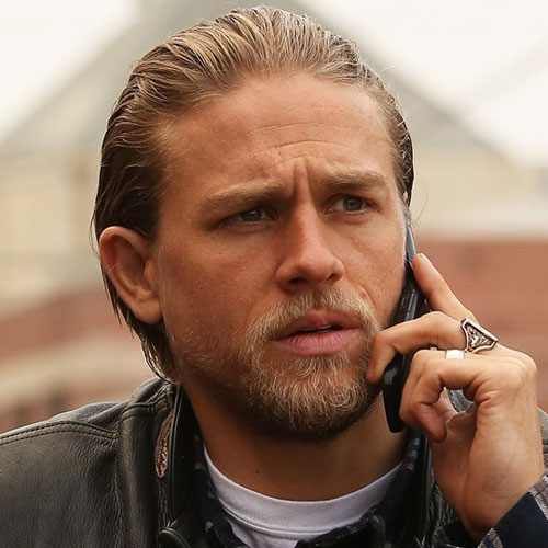 Jax Teller Hair - How To Style A Slicked Back Hairstyle