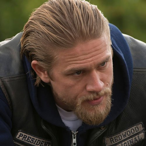 Jax Teller Slicked Back Hair