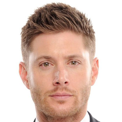 Jensen Ackles Hairstyles - Crew Cut with Low Fade