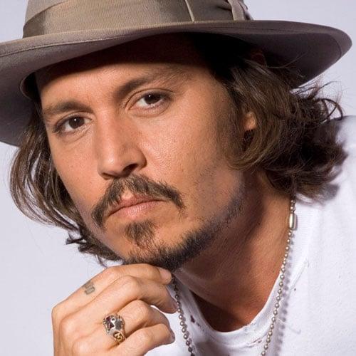Johnny Depp Hair Style