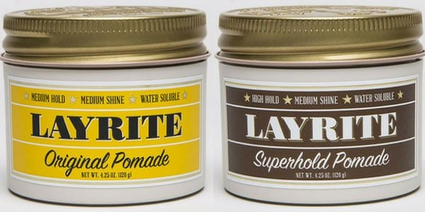 Layrite Original and Super Hold Pomade Review