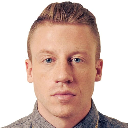 Macklemore Haircut - Slicked Back Undercut