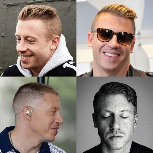 Macklemore Haircut