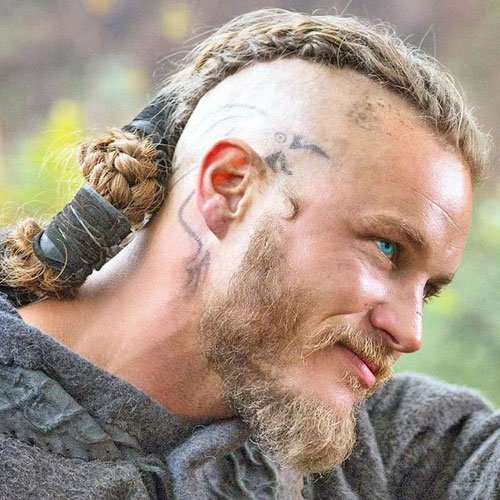 Ragnar Lothbrok Hairstyle | Men's Hairstyles + Haircuts 2018