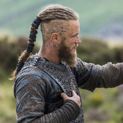 Ragnar Lothbrok Hair - Vikings Hairstyles