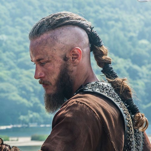 Image of Ragnar Lothbrok Hairstyle