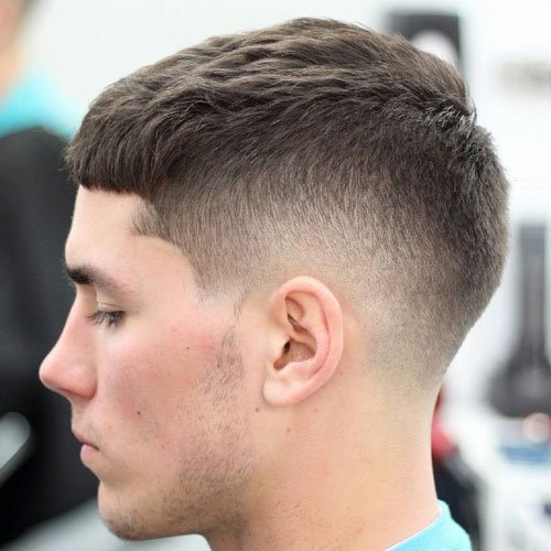 Taper Fade with French Crop