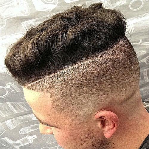 Undercut with Textured Spiky Hair