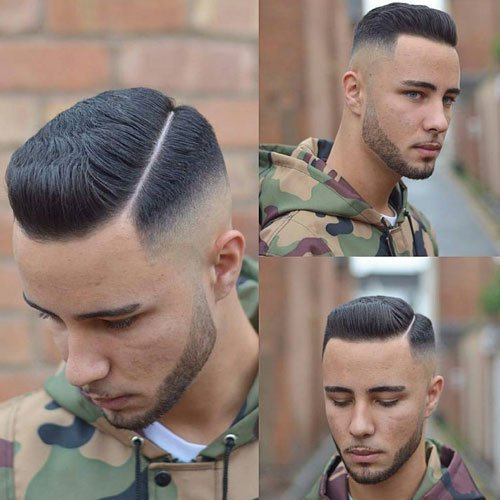 Skin Fade Haircut Bald Men