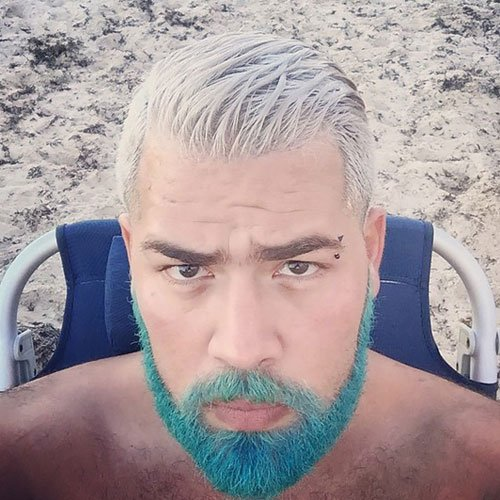 Merman Hair - Guys with Colored Hair and Dyed Beards
