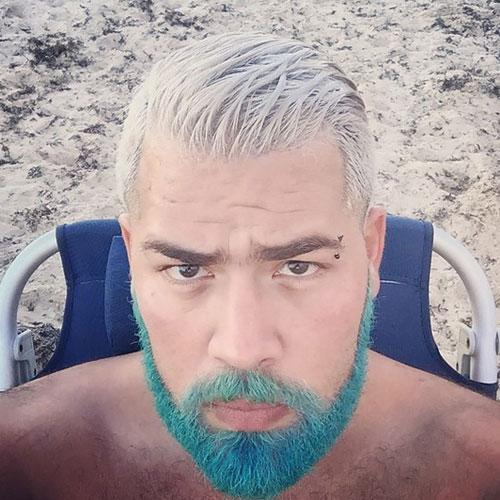 Blue Beard Color