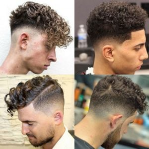The Curly Hair Fade