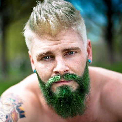 Merman Hair 21 Guys With Colored Hair And Dyed Beards 2019 Guide