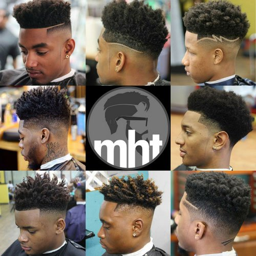 High Top Fade Haircut Men S Hairstyles Haircuts 2017