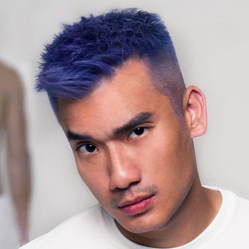 Merman Hair Guys With Colored Hair And Dyed Beards Men S Hairstyles Haircuts 2017