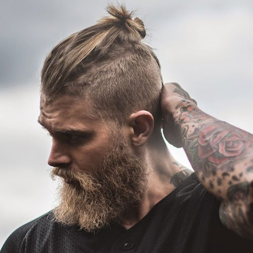19 Man Bun Styles Men S Hairstyles Haircuts 2018