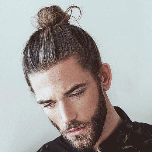 19 Man Bun Styles Men S Hairstyles Haircuts 2017