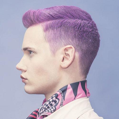 Merman Hair - Guys with Purple Hair