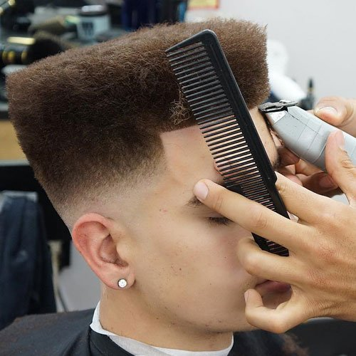 The Temp Fade Haircut Top 21 Temple Fade Styles 2019
