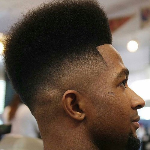 Nappy High Top Fade