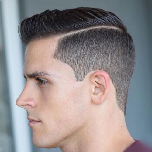 Tapered Side Part