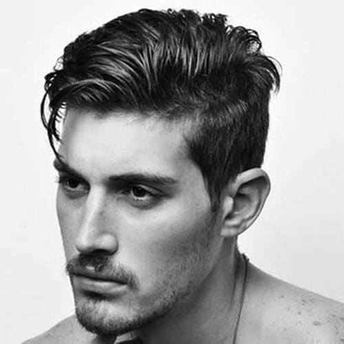 Taper Hairstyles the classic taper haircut 2 Tapered Sides With Long Comb Over
