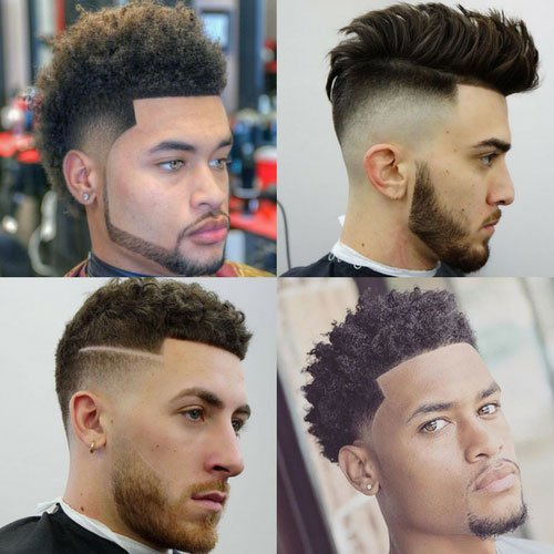 Low fade haircut styles for black men