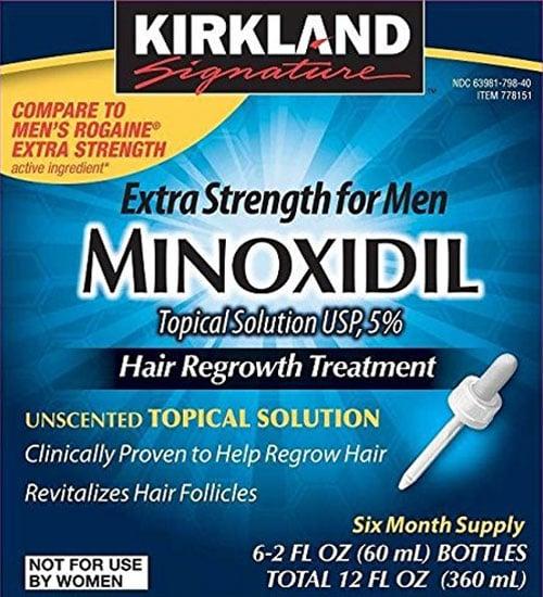 Best Hair Loss Treatment - Minoxidil