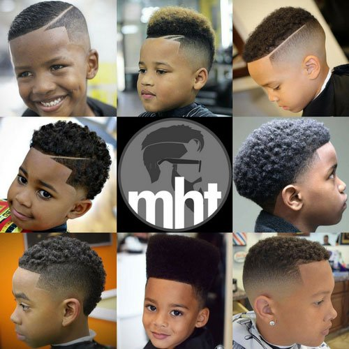 17 Black Boys Haircuts 2017 | Men\'s Hairstyles + Haircuts 2017