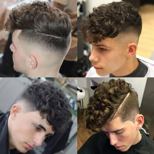 Men S Haircuts For Curly Hair