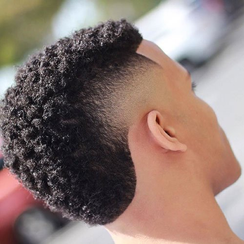 Frohawk with Skin Fade