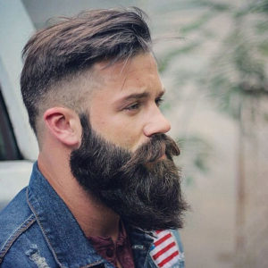 Cool Short Hairstyles and Beards For Men 2017